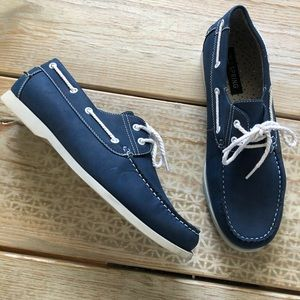 Men's Boat Shoe blue /white